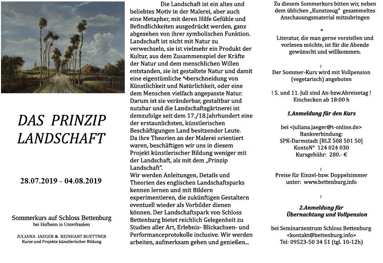 2019 Das Prinzip Landschaft pdf